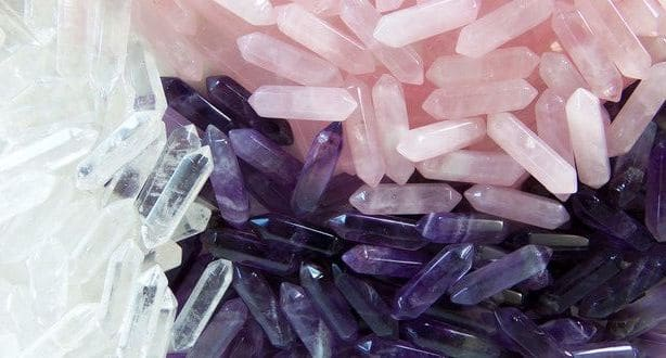 Rose Quartz and Amethyst Energy Brings Love Peace and Clarity