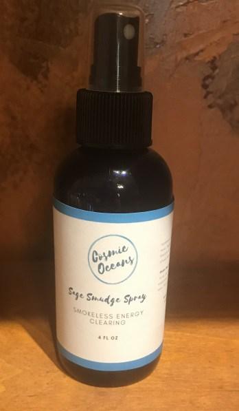 White Sage Smokeless Smudge Spray 1