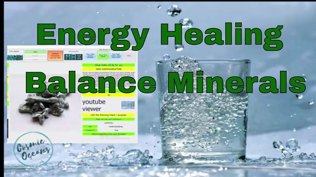 scalar energy nutrient healing