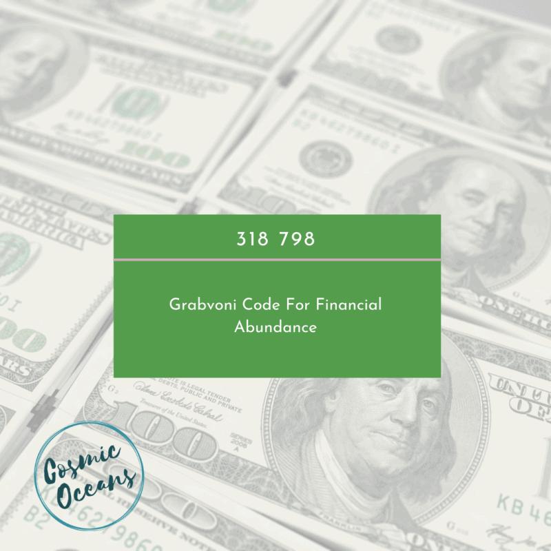 Grabovoi Code for Money and Financial Abundance